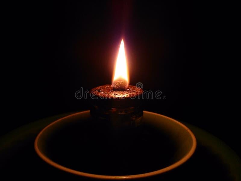 Belles lumières traditionnelles en Indonésie image libre de droits