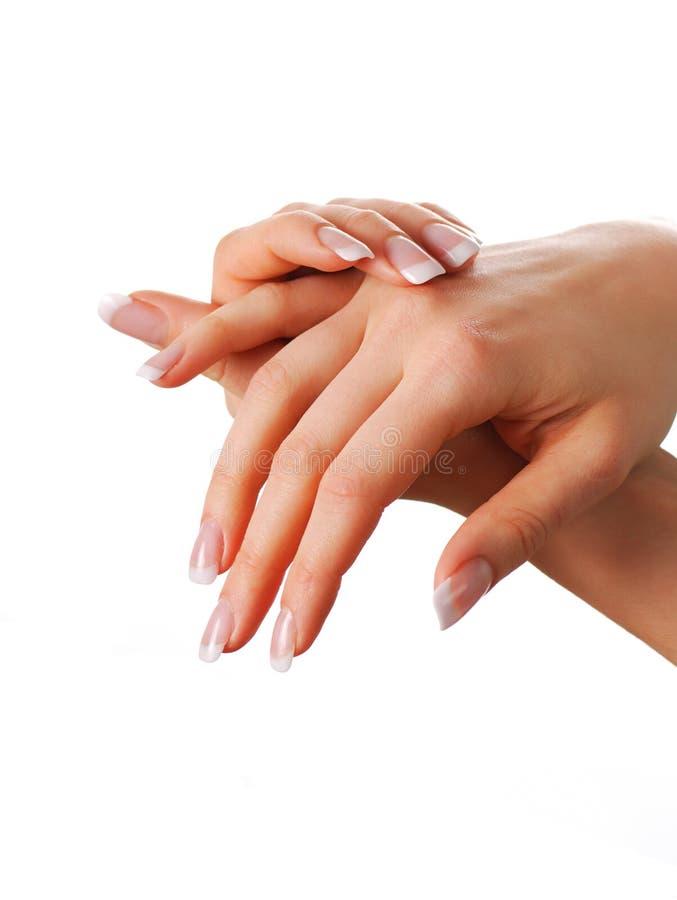 belles mains images stock