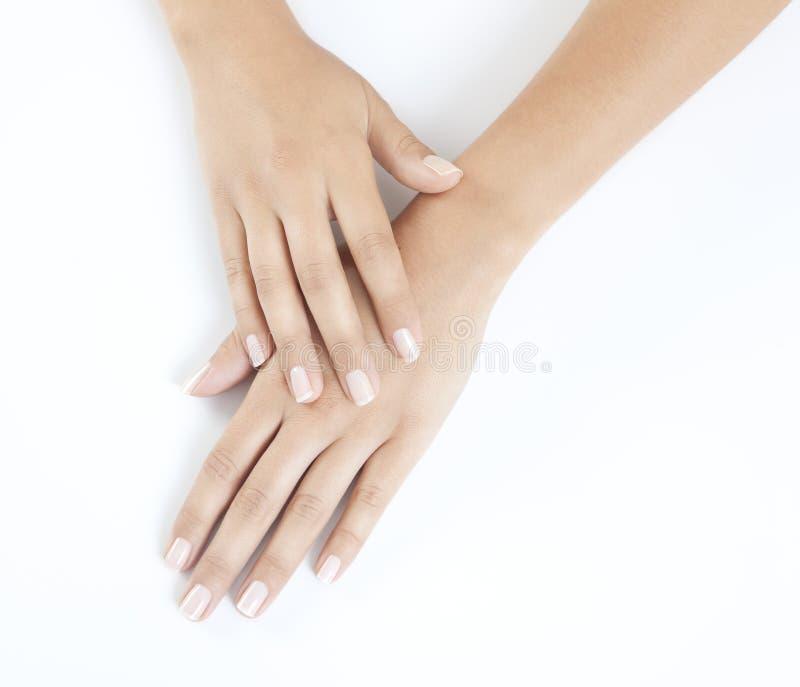 Belles mains de femme photo libre de droits