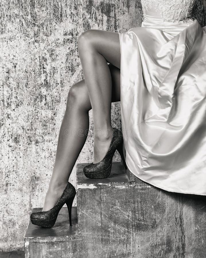 Belles pattes femelles photo libre de droits
