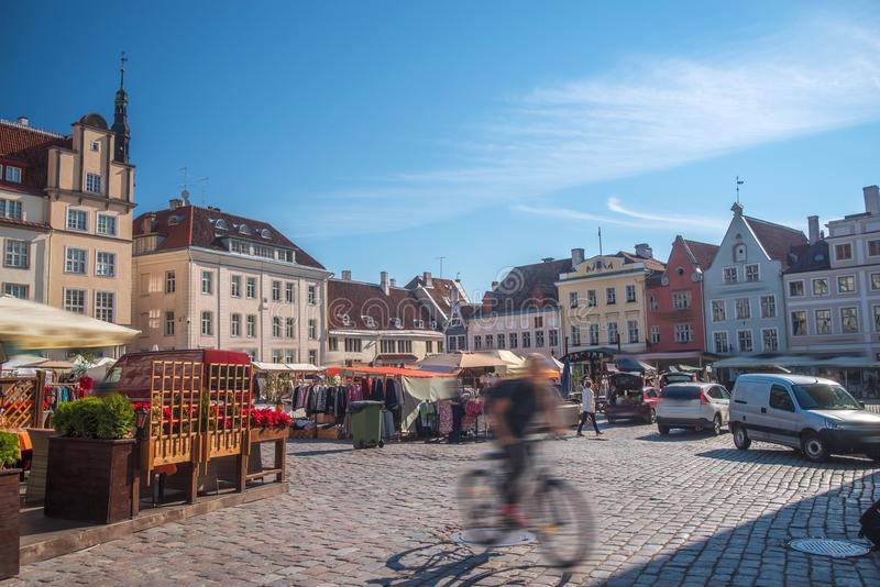 Belles photos de Tallinn photo stock