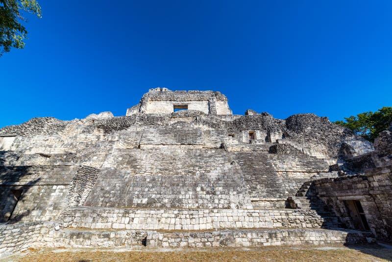 Belles ruines maya photos stock