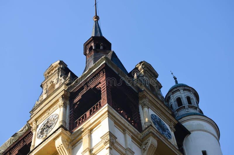 Belles tours de château photographie stock