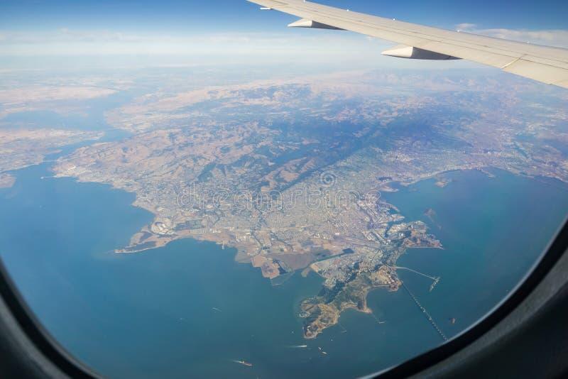 Belles vues de la région de San Francisco Bay photos libres de droits