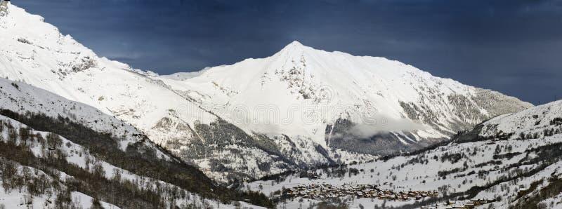 belleville De Haute oknówki święty Savoie zdjęcie royalty free