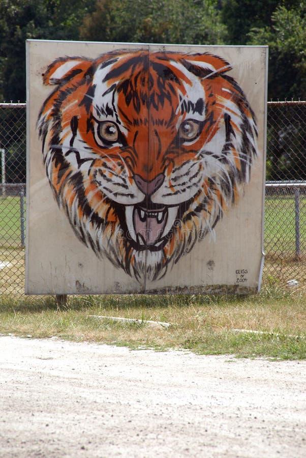 Belleville szkoły średniej obrazek przy Belleville Wysoki Schooli zdjęcia stock