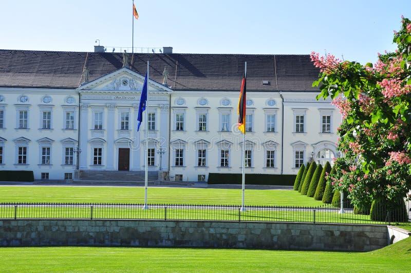 bellevue柏林城堡德国 库存照片