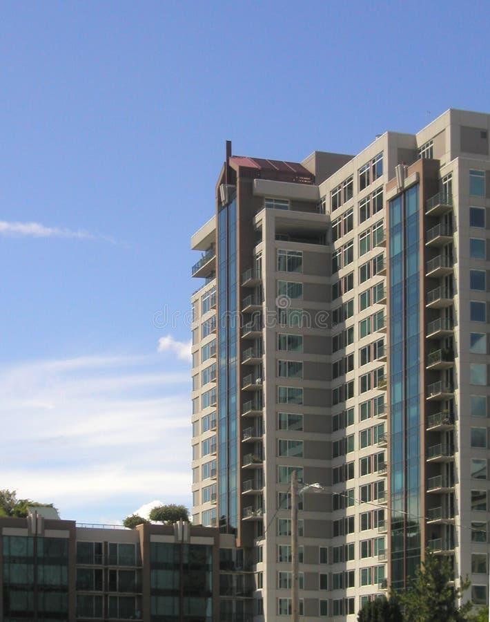 Bellevue高层 免版税库存照片