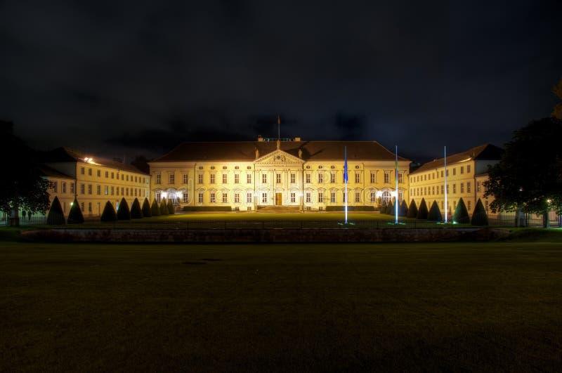 bellevue παλάτι του Βερολίνου στοκ εικόνα