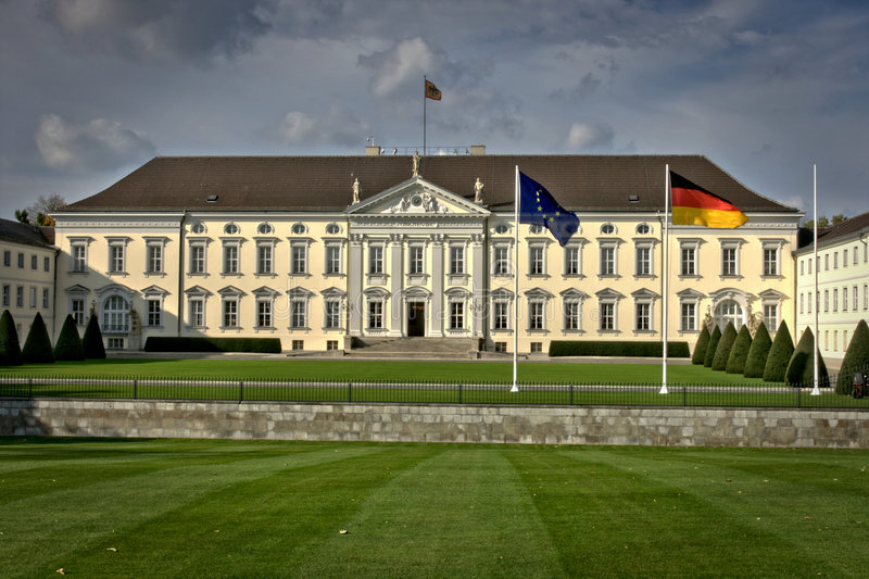 Bellevue. The bellevue castle in berlin royalty free stock photography