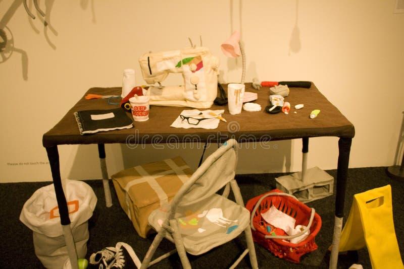 Bellevue Arts Museum stock photo
