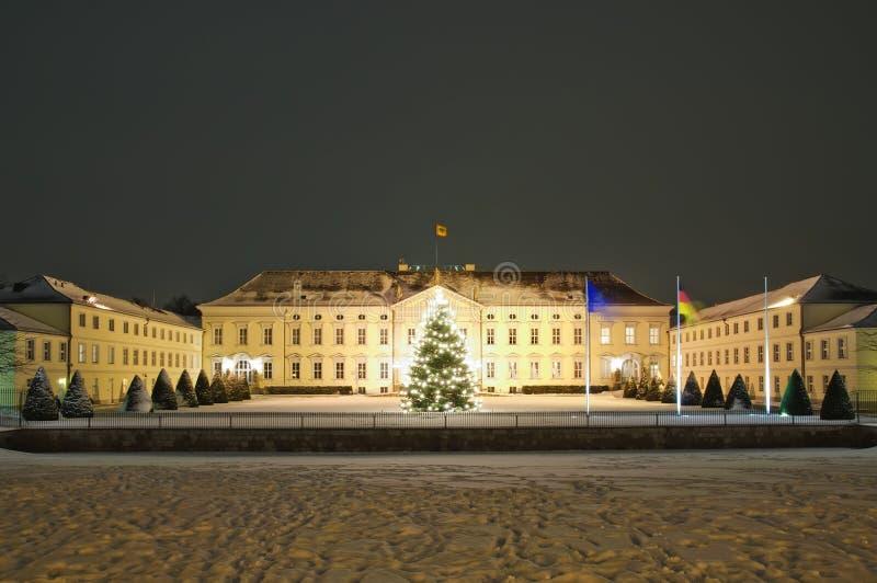 Bellevue de Schloss em Berlim imagens de stock royalty free