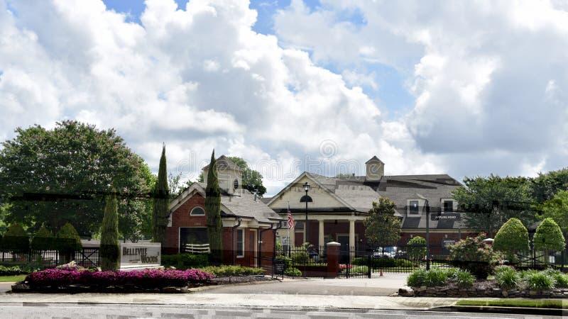 Bellevue drewien emerytury Starsza społeczność, Memphis, TN zdjęcia stock
