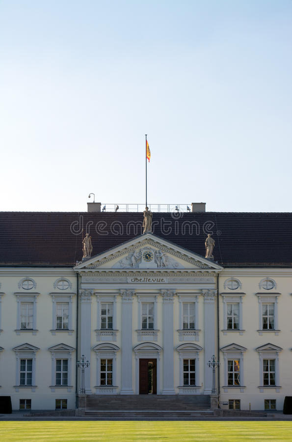 Bellevue Palace, Berlin stock photography
