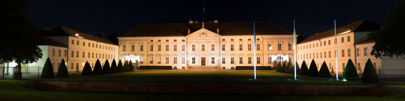 Bellevue Palace, Berlin royalty free stock photos