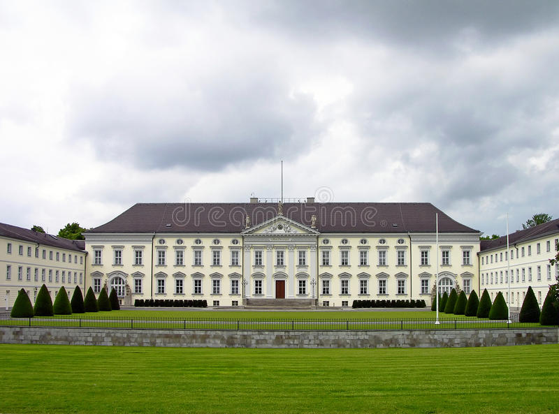 Bellevue Schloss in Berlin royalty free stock image