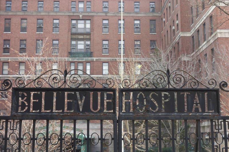 Bellevue szpital obrazy stock