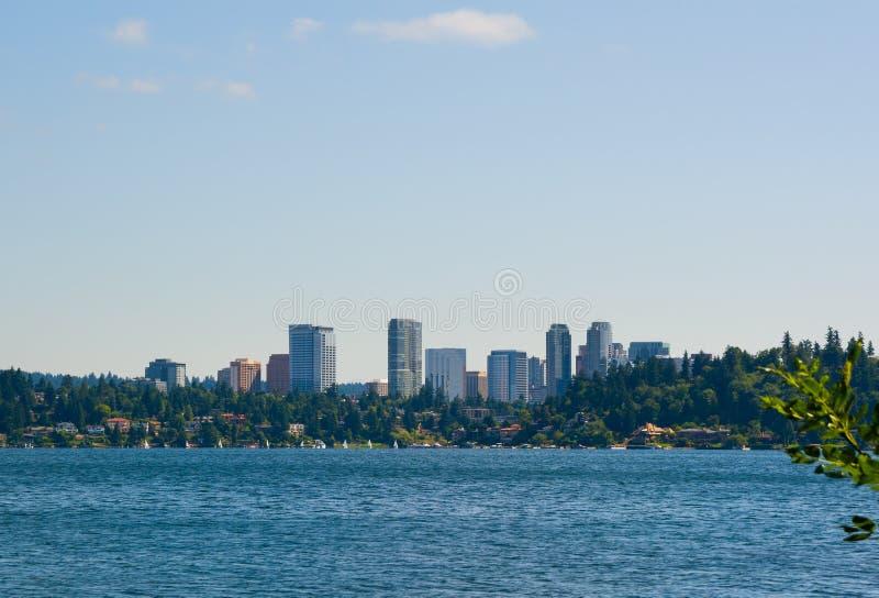 Bellevue Washington. Skyline of Bellevue Washington State stock photography