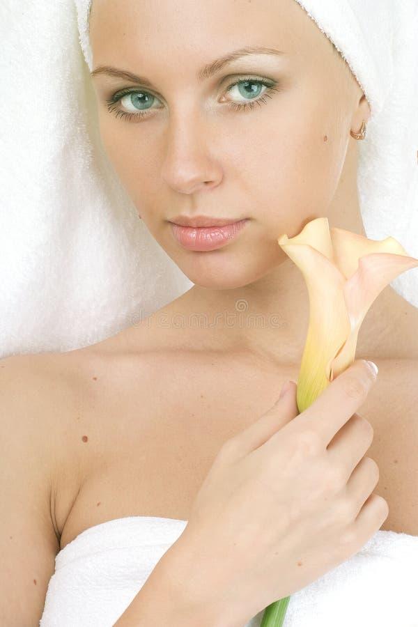 Download Belleza imagen de archivo. Imagen de aislado, caucásico - 7289059
