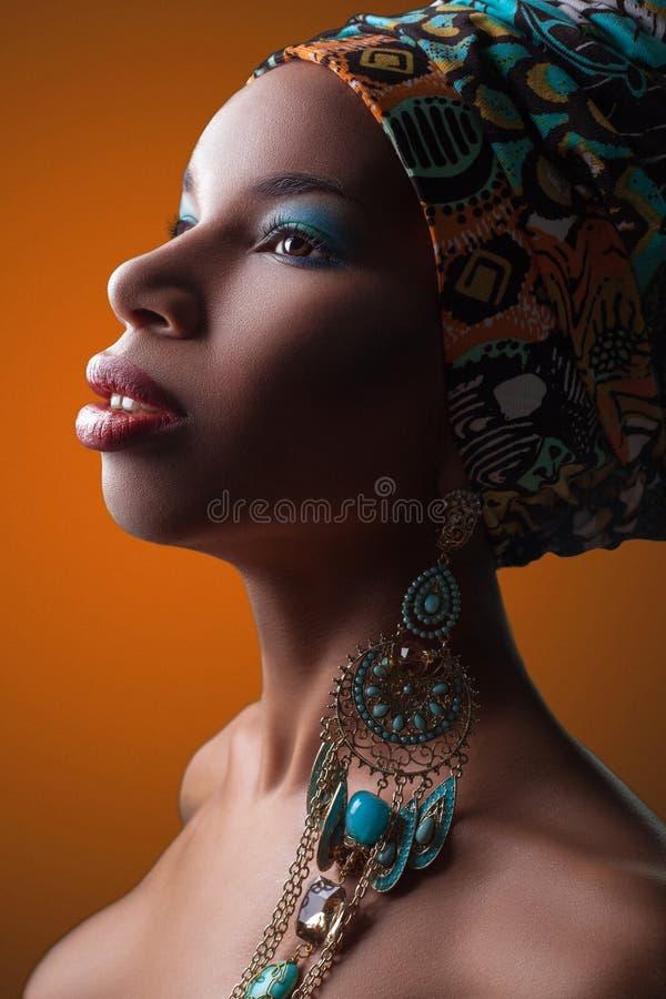 Belleza africana fotografía de archivo libre de regalías