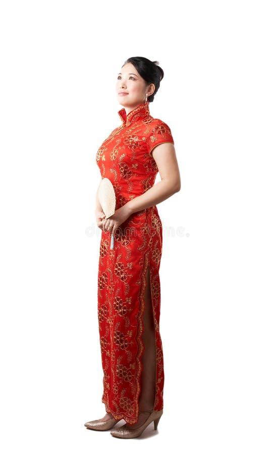 Belleza asiática con clase fotografía de archivo
