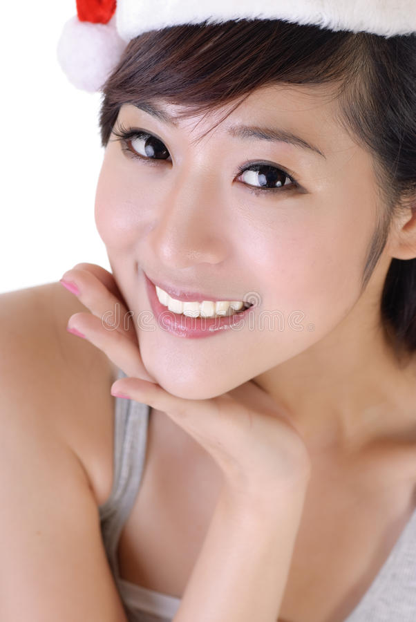 Belleza asiática elegante foto de archivo libre de regalías