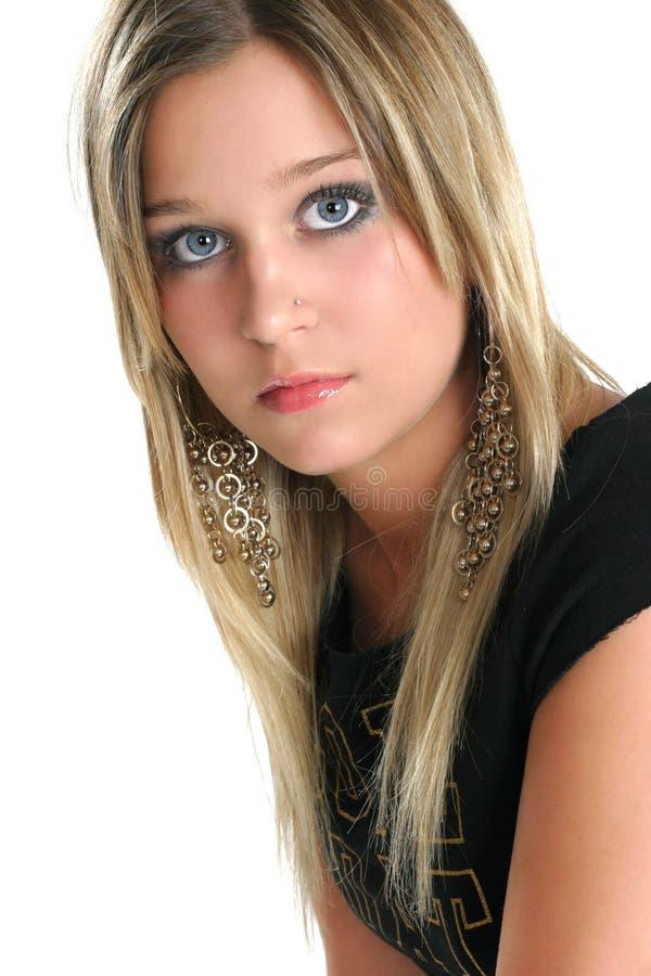 Download Belleza-cierre Adolescente Encima De 2 Foto de archivo - Imagen de cierre, labio: 1285692