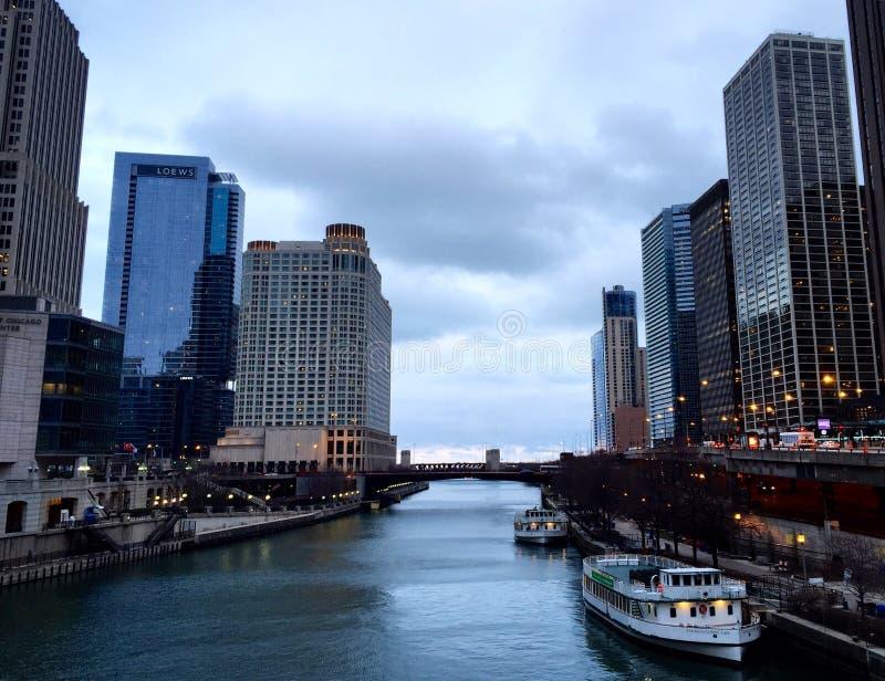 Belleza de Chicago fotografía de archivo libre de regalías