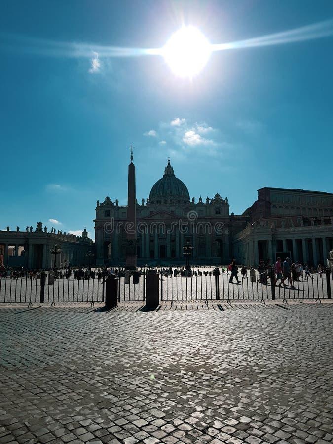 Belleza de la Ciudad del Vaticano Roma Italia imagenes de archivo