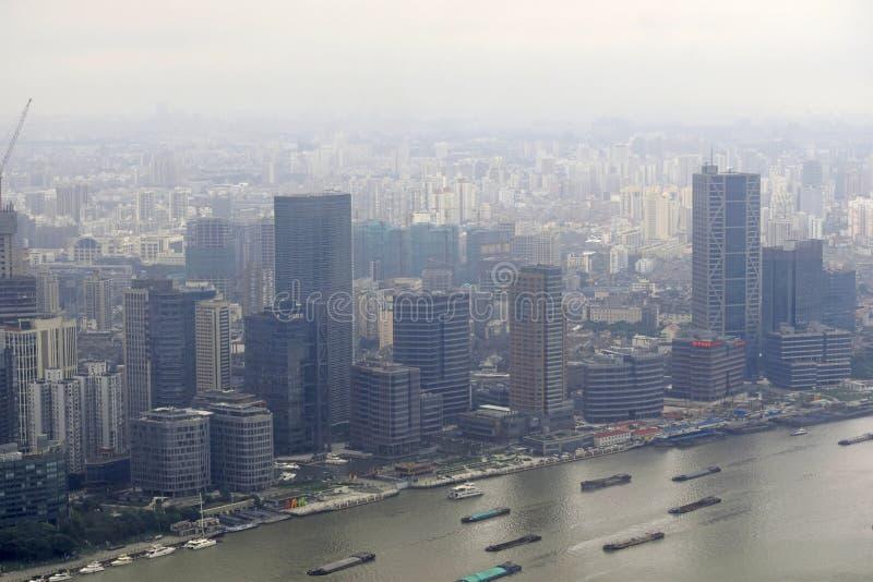 Belleza de la ciudad de Shangai, China imágenes de archivo libres de regalías