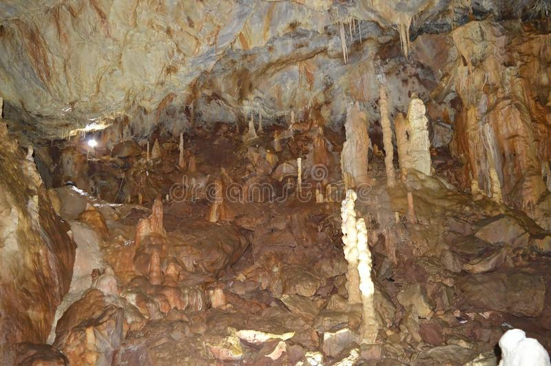 Belleza de la cueva imagen de archivo libre de regalías