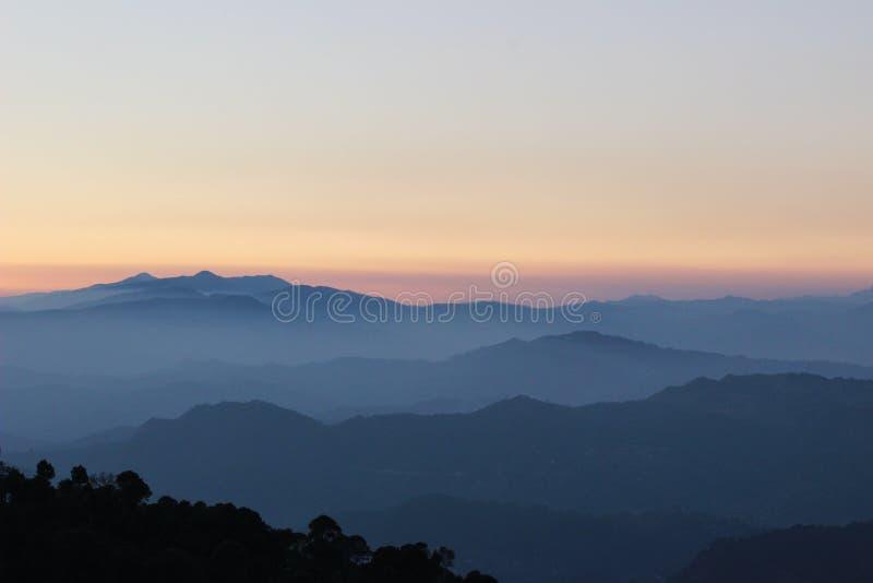 Belleza de la montaña foto de archivo libre de regalías