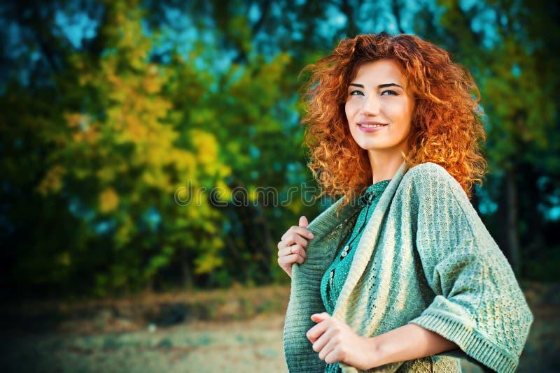 Belleza de la temporada de otoño fotografía de archivo