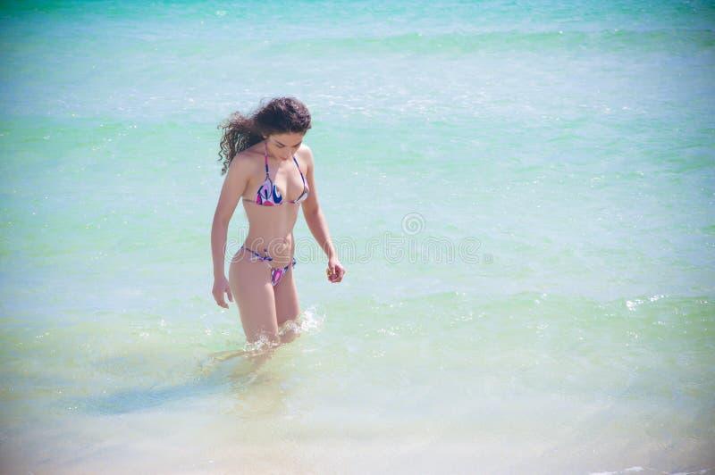 Belleza de Miami fotos de archivo