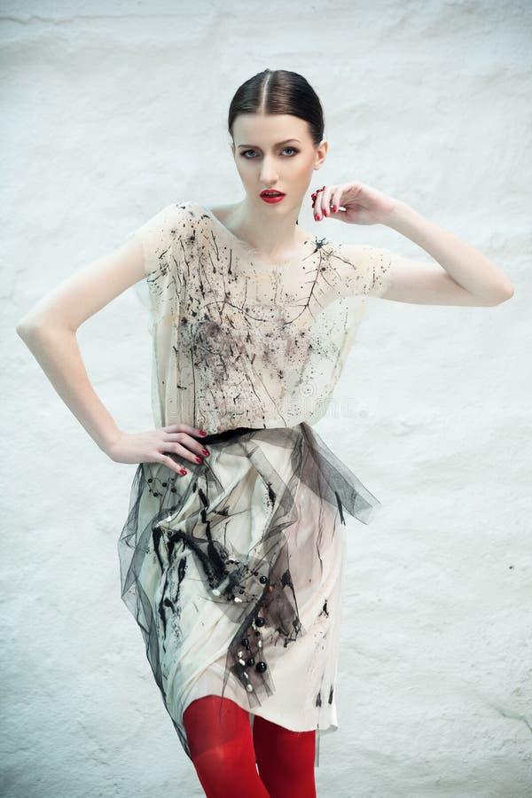 Belleza de moda imagen de archivo