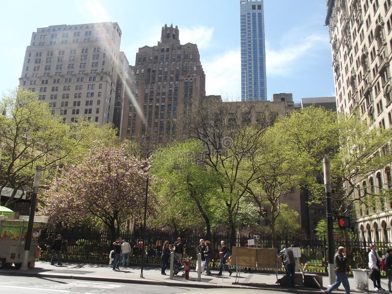 Belleza de New York City imágenes de archivo libres de regalías