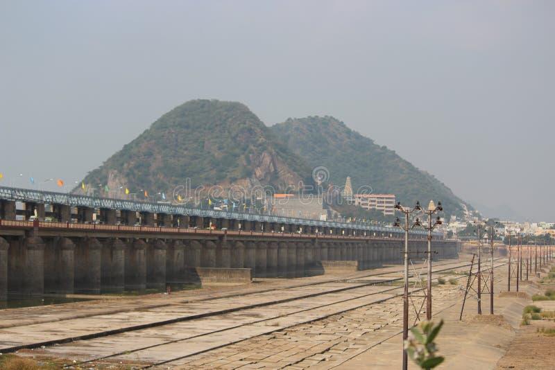 Belleza de Vijayawada fotos de archivo