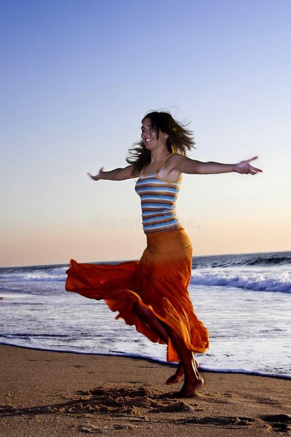 Belleza del baile imagen de archivo libre de regalías
