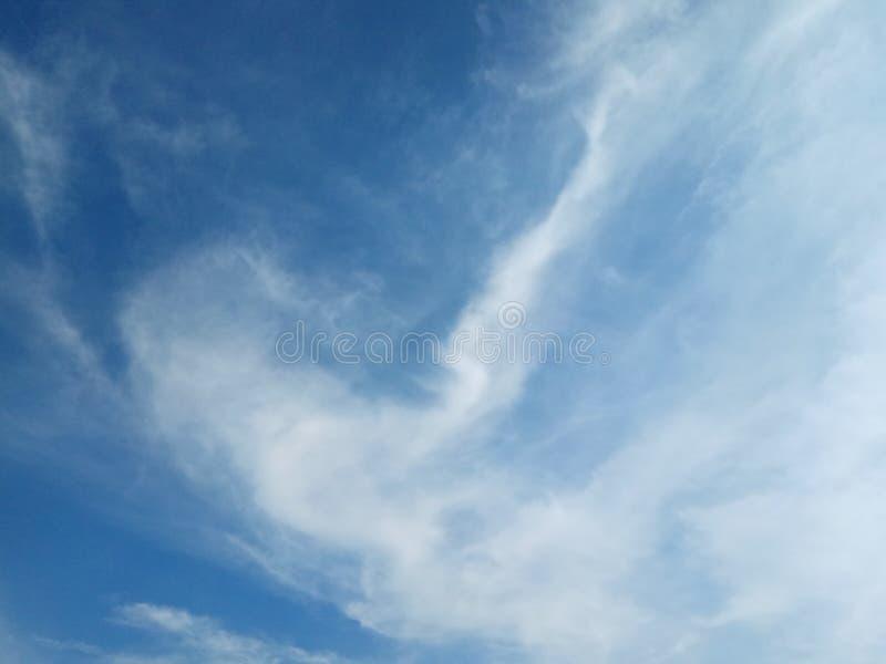 Belleza del cielo fotografía de archivo