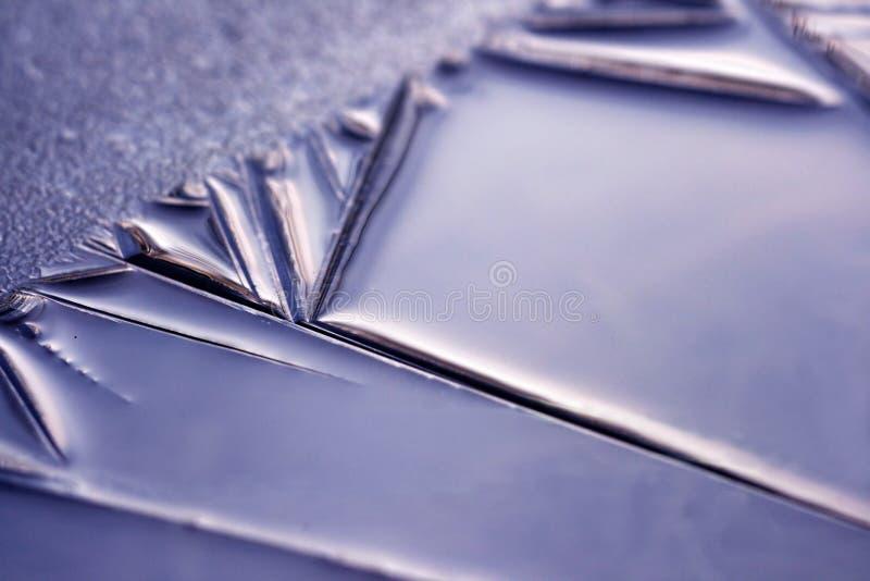 Belleza del hielo - primer imagen de archivo