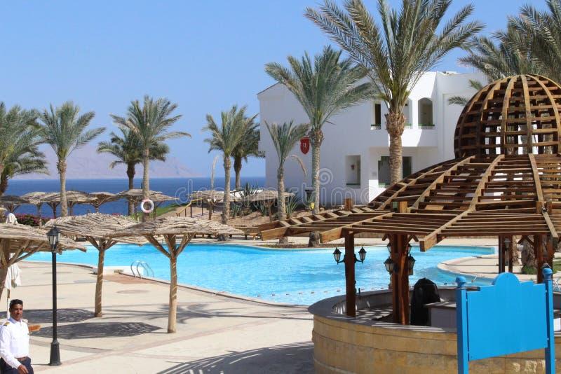 Belleza en el hotel Egipto fotos de archivo libres de regalías