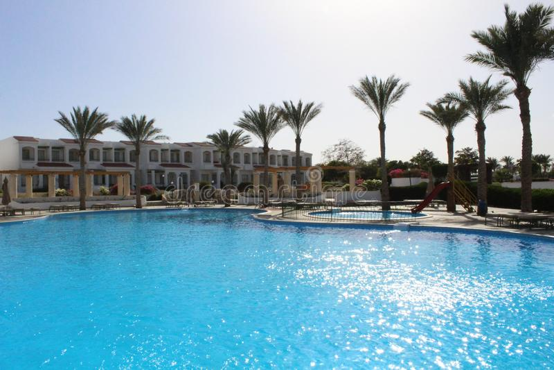 Belleza en el hotel Egipto foto de archivo libre de regalías