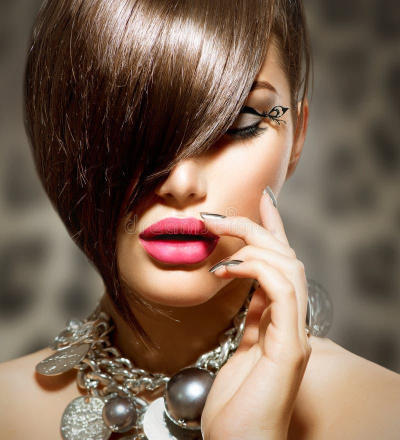Belleza Girl modelo atractivo foto de archivo