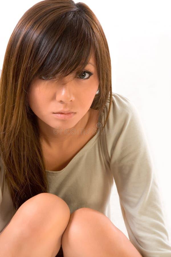 Belleza joven japonesa imagen de archivo