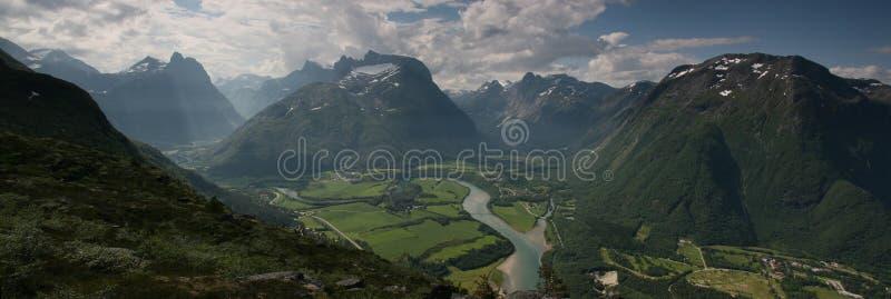 Belleza noruega foto de archivo