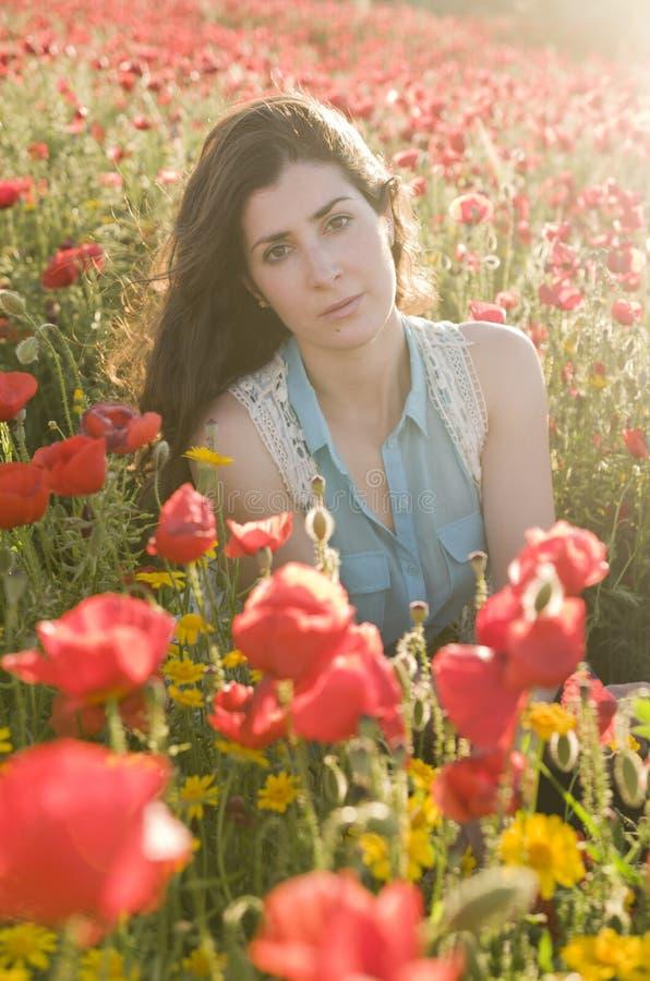 Belleza que presenta en las flores fotos de archivo