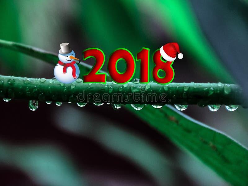 Belleza Resolution123 de la imagen del Año Nuevo foto de archivo