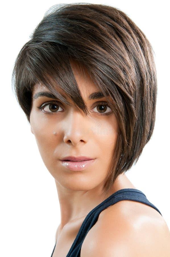 Belleza y peinado fotos de archivo