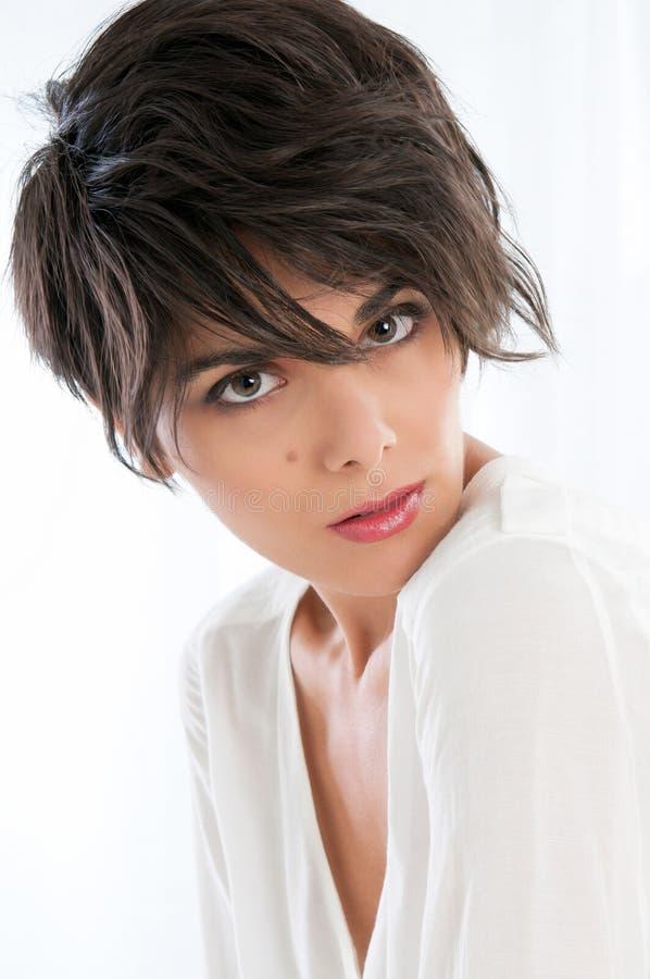Belleza y peinado foto de archivo libre de regalías