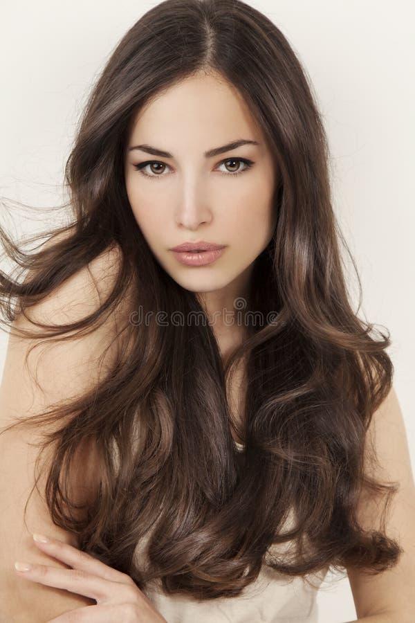 Belleza y pelo foto de archivo libre de regalías